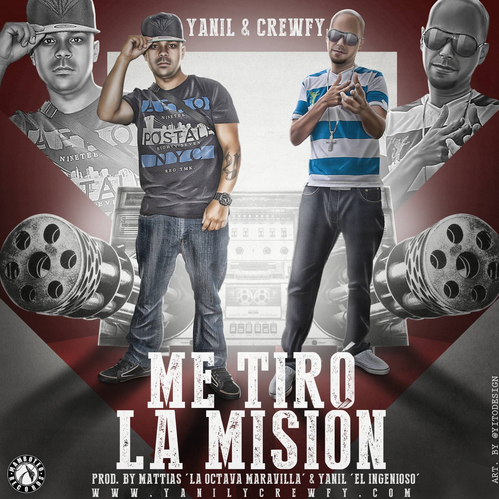 Yanil & Crewfy - Me Tiro La Mision