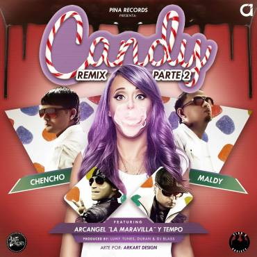 Plan B Ft. Arcangel Y Tempo – Candy (Official Remix) (Parte 2)