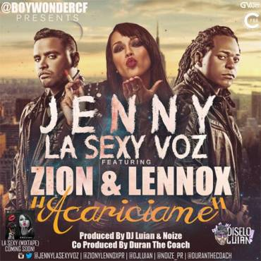 Jenny La Sexy Voz Ft. Zion y Lennox – Acariciame